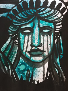 9 Lady Liberty Weeps | by Pict Ink