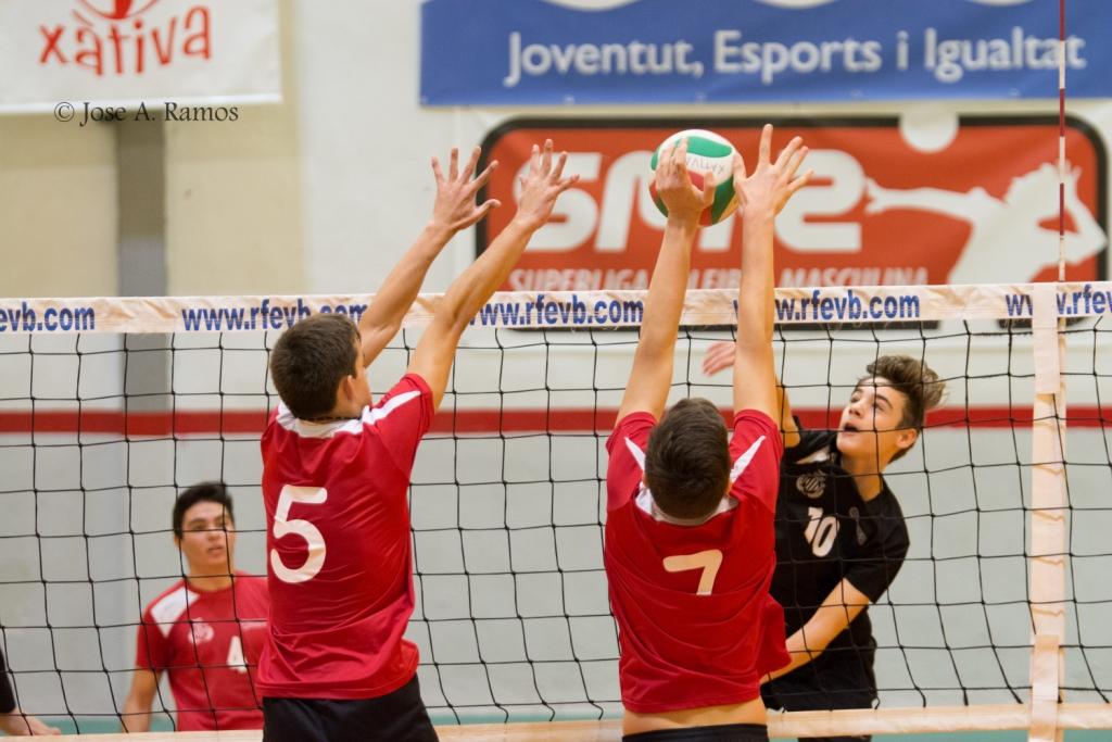 Crònica equips base del club Voleibol Xàtiva i pròxima jornada