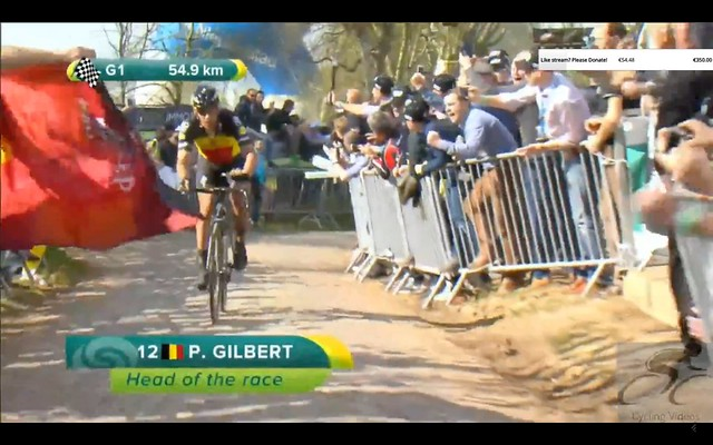 The moment #RVV was won