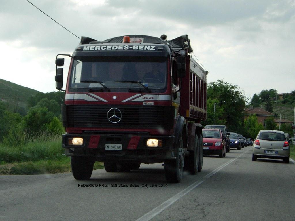 ... Mercedes 2635   by Federico Friz