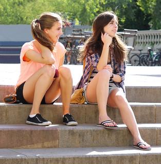 Two Friends Barcelona Chrisk8800 Flickr
