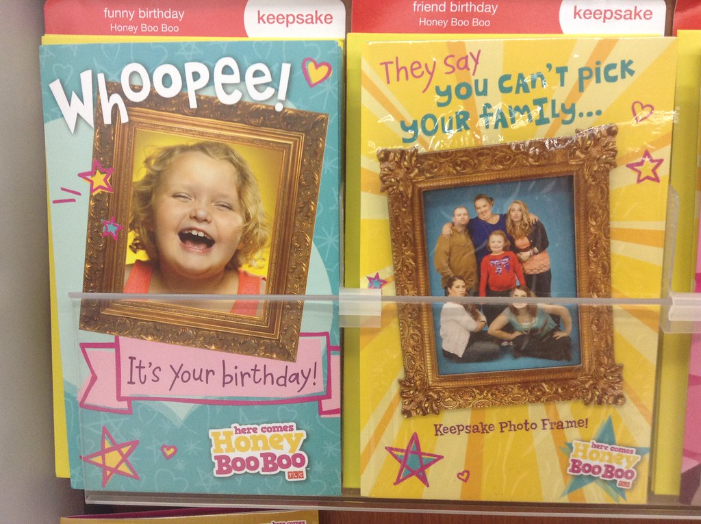 Honey Boo Boo Greeting Cards At Walmart Stores 62014 Pic Flickr