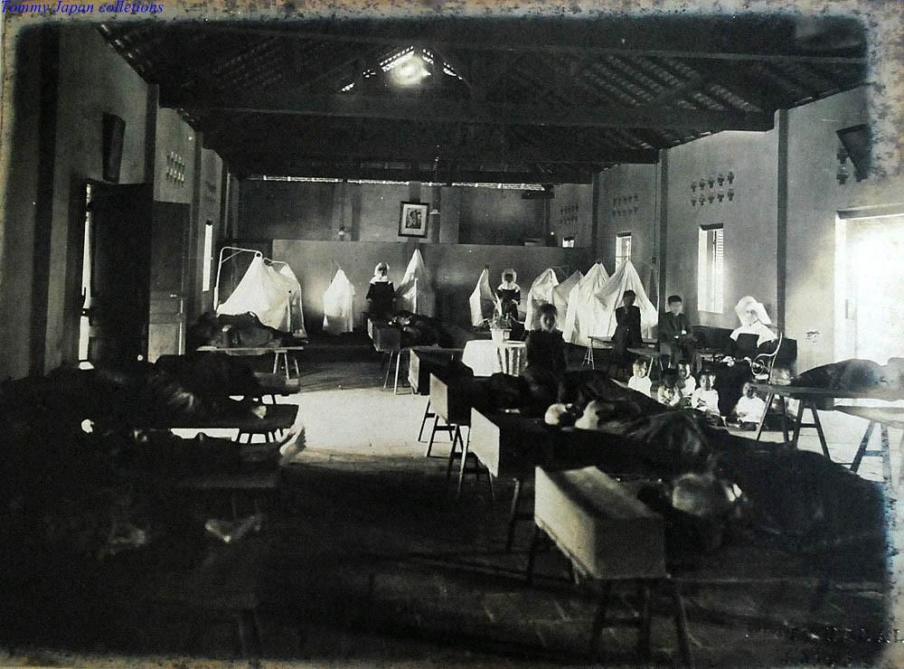 intrieur de lhospice de gia dinh saigon 1930 photo by nadal by