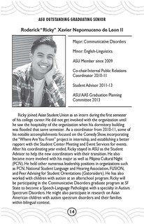 Roderick DE LEON - ASU Honoree 2014 | by AAS at SFSU