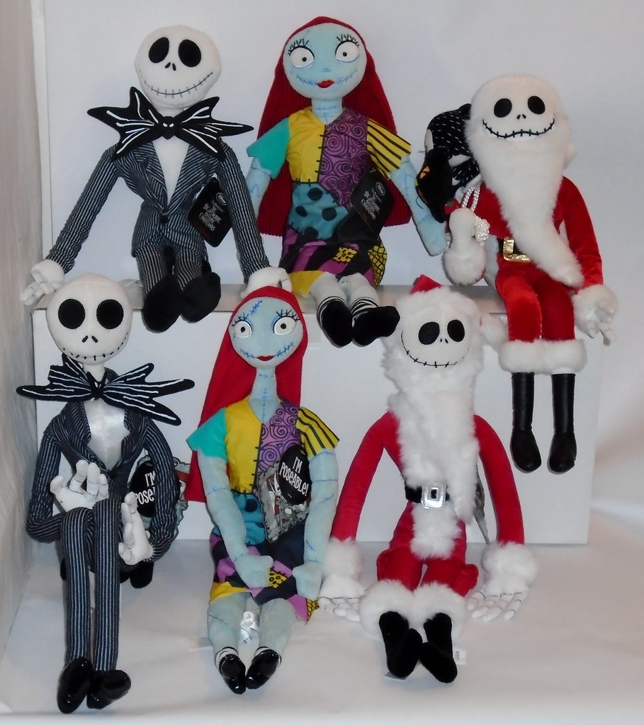 2011 vs 2014 Jack and Sally Plush - Nightmare Before Chris… | Flickr