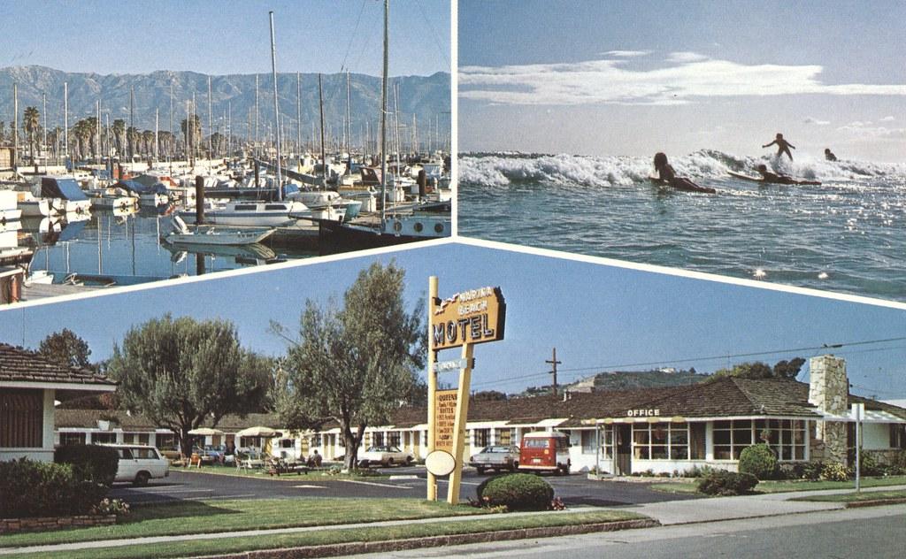 Marina Beach Motel - Santa Barbara, California