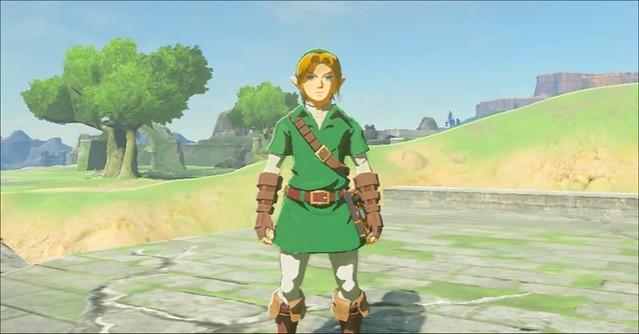 Legend of Zelda Breath of the Wild Classic Link kostým