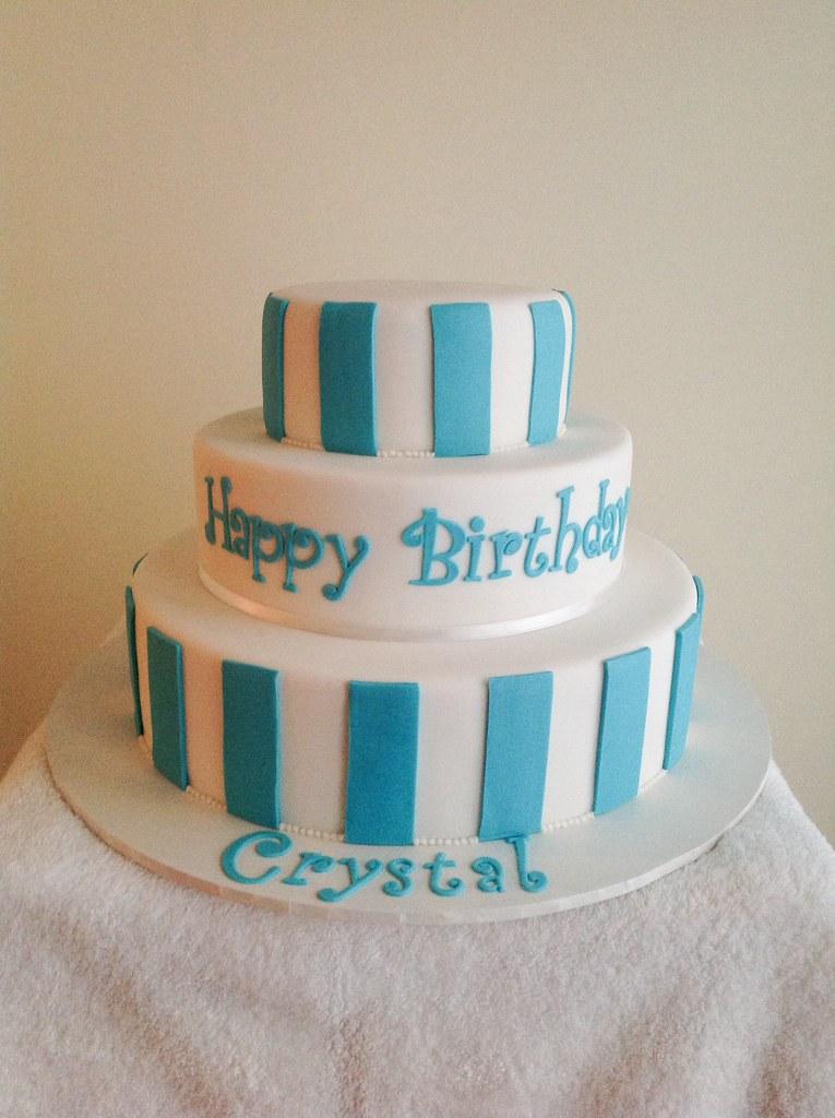 Crystals 15th Birthday Cake Sandra Socake Flickr