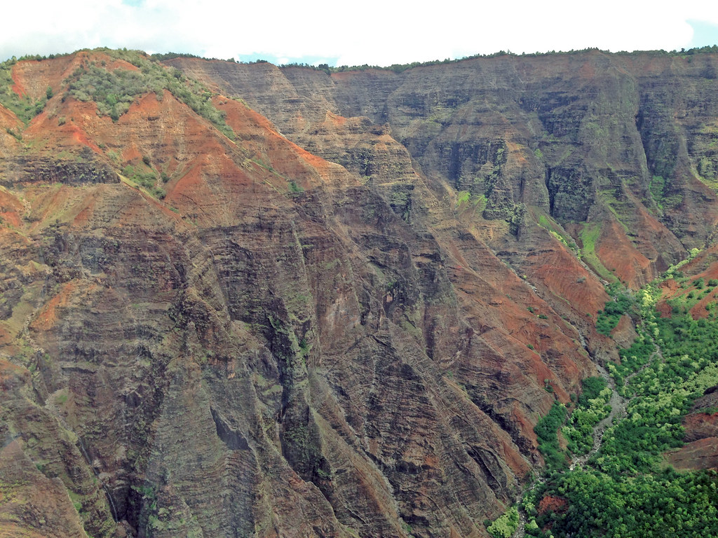 Waimea Canyon - Beautiful Landscape Of Untouched Nature