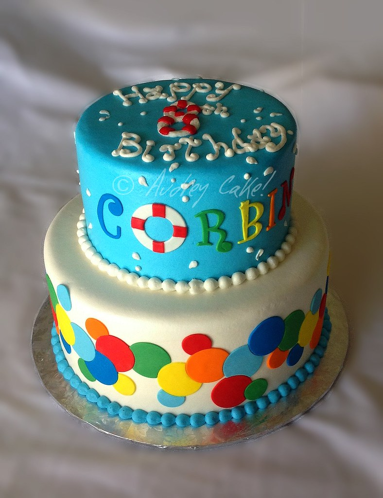 pool party cake kid cakes flickr 6715