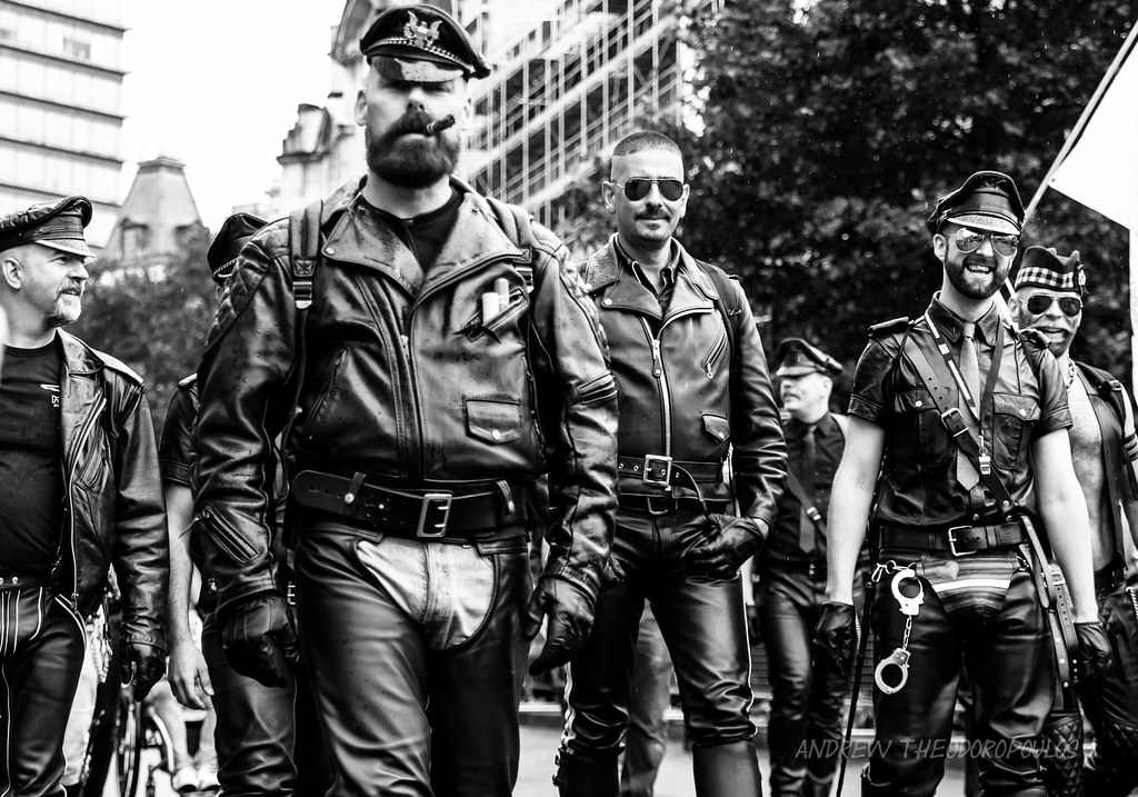 Gay leather biker uk