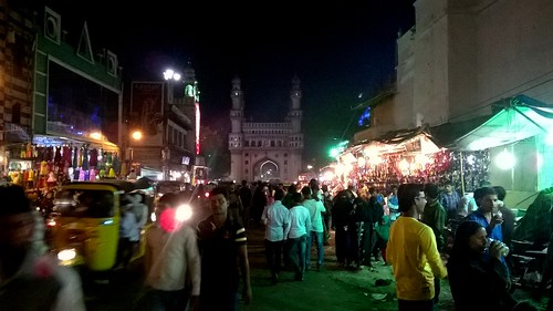 Busy Streets near Char Minar | by IndianTinker