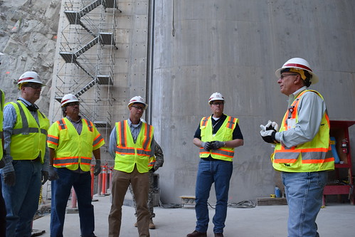 Addicks and Barker dams project team visits Folsom Dam auxiliary spillway | by USACE-Sacramento District