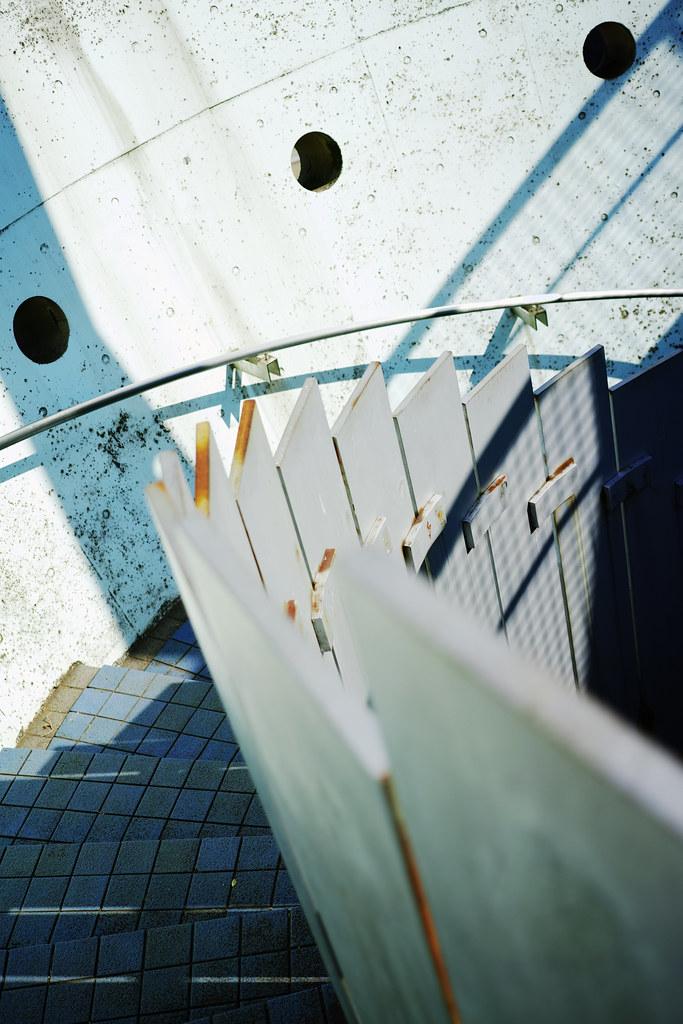 20170307_02_山下公園の螺旋階段