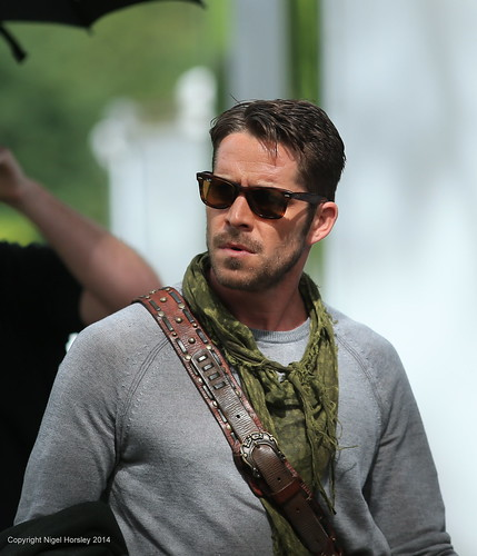 Sean Maguire: Sean Maguire, Robin Hood, Once Upon A Time Extras, July 18
