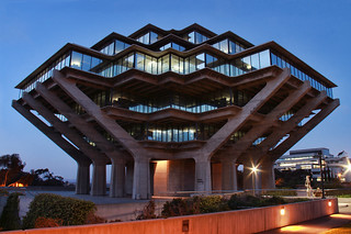Night View of The Geisel Library, University of California San Diego | by o palsson
