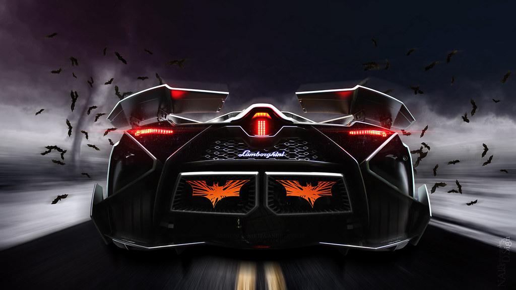 Lamborghini Egoista Blue Car Image Ideas