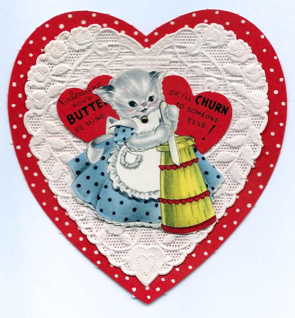 Vintage Valentine Day Greeting Card By American Greetings Flickr