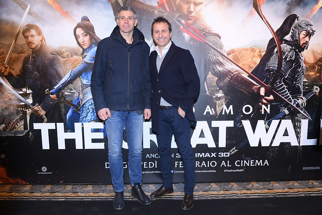 The Great Wall Premiere - Infront Sports & Media + Inter