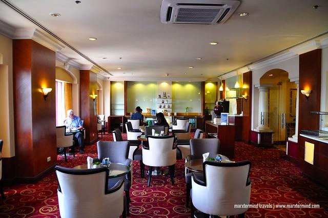 Inside Sheraton Club Lounge Sheraton Imperial Kuala Lumpur
