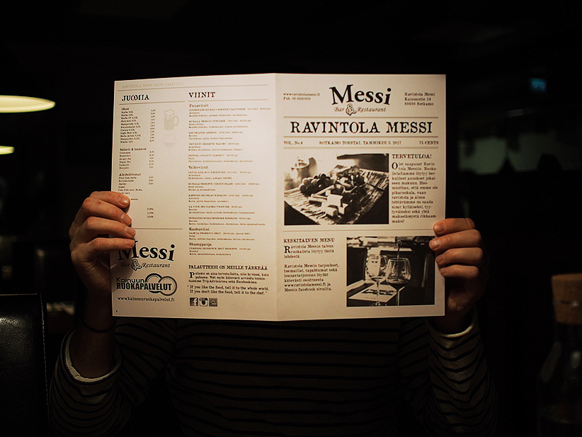 Vuokatin ravintolat, Messi, Vuokatti, Ravintola Messi, Sotkamo