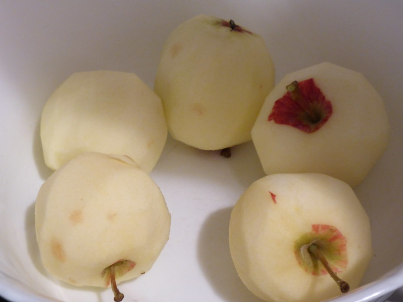 Apfelkuchen backen 012