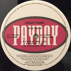 GROUP HOME:LIVIN' PROOF(LABEL SIDE-C)