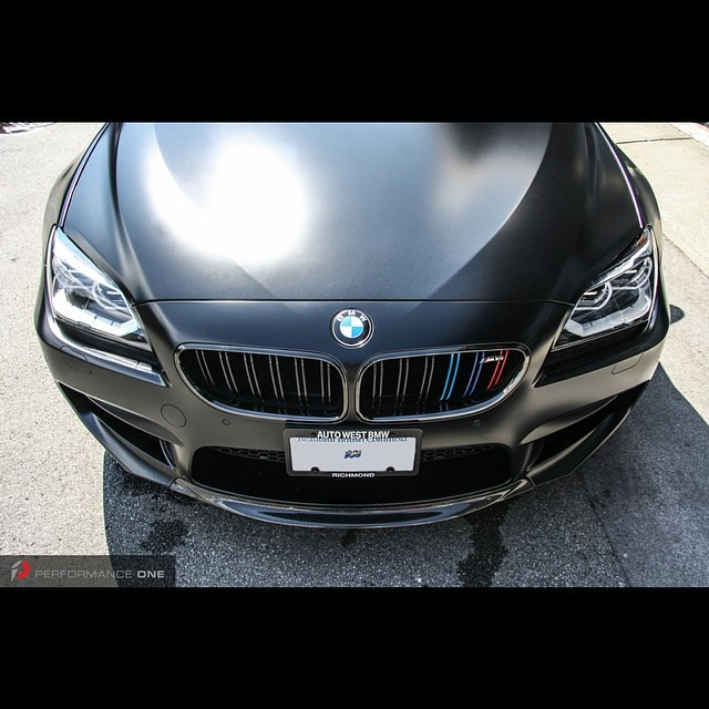 #bmw #f13 #m6 #individual #competitionpackage #frozenblack #rkpcarbon #carbonfiber front lip #indstyle #mcolour front grille set with #mpackagechromedark bezel #mpower #bmwmperformance #bmwperformance #performanceone @indstyle @rkpcomposites