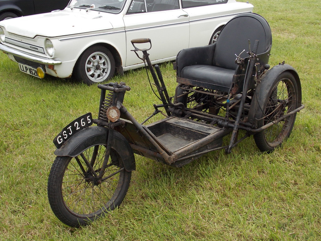 1946 Argson Invalid Carriage Pickering Traction Engine Ral Flickr