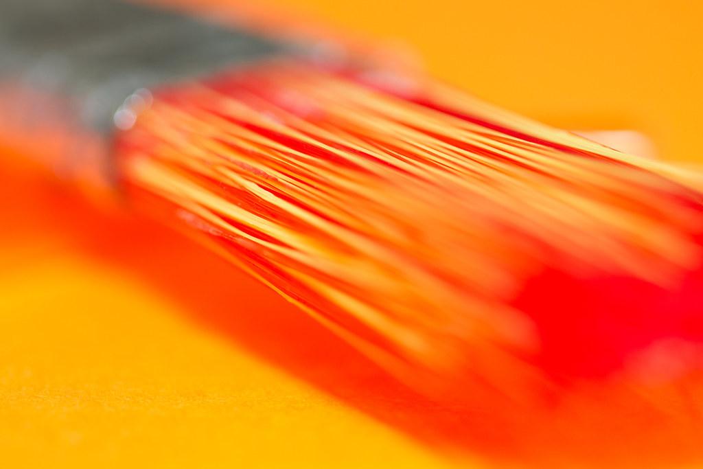 Orange Shades shades of orange [explored] | macro mondays theme: brush rea… | flickr