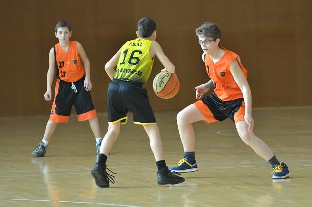 Cadet taronja contra CEB Navarcles (18.02.17)