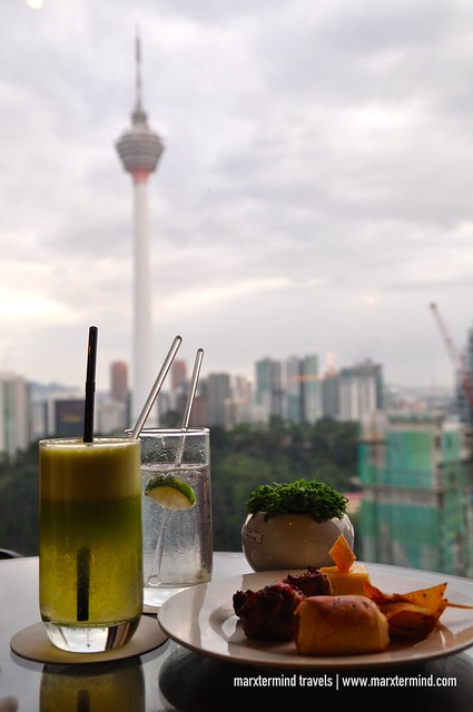 Evening Cocktails ayt Sheraton Club Lounge Sheraton Imperial Kuala Lumpur