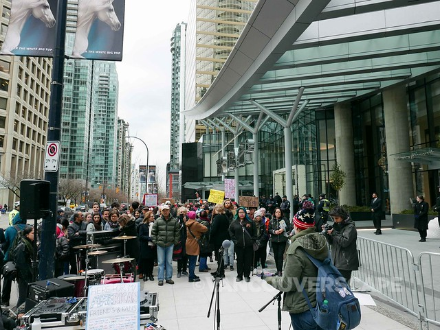 Trump Tower Vancouver protest-10