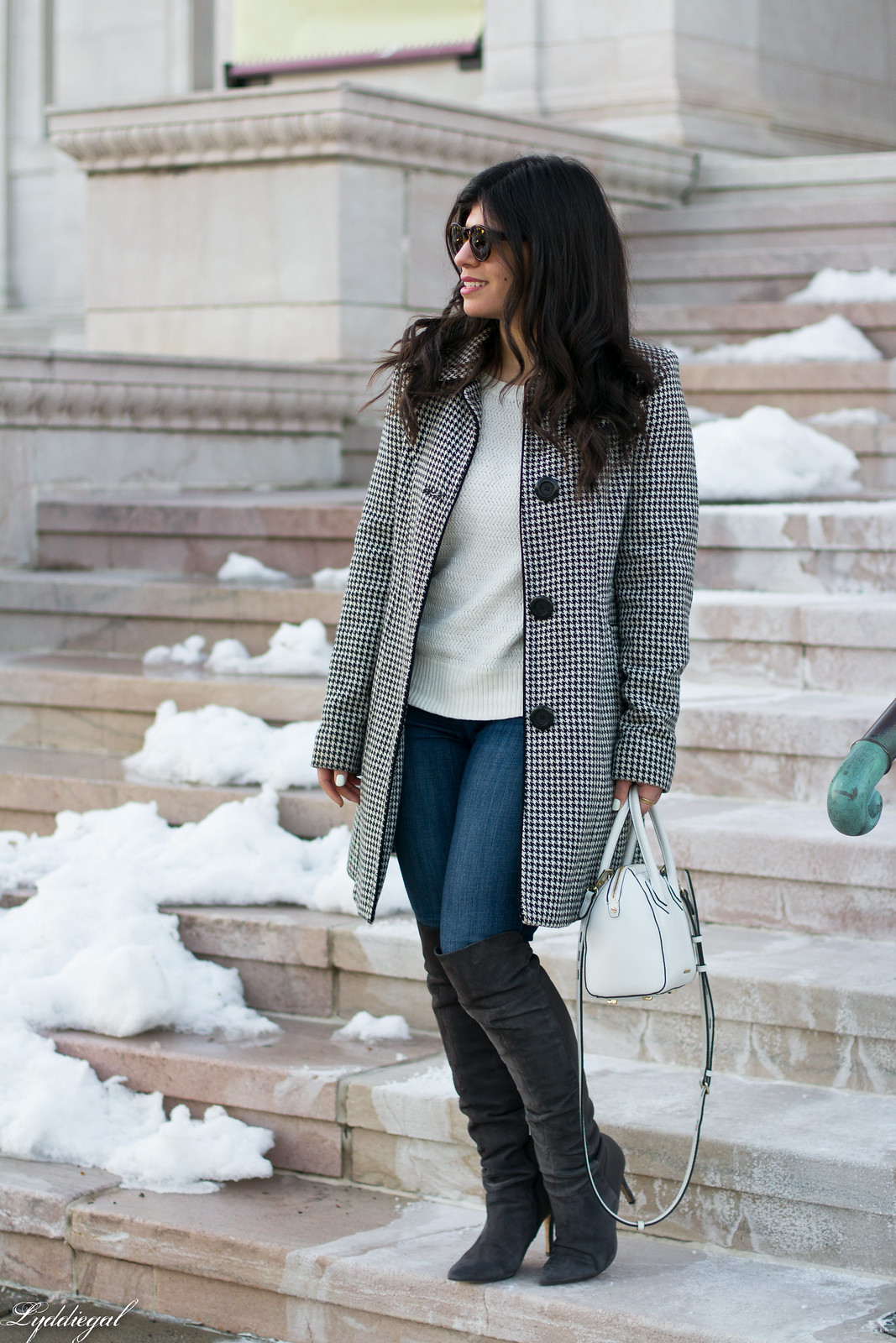 houndstooth coat, white sweater, grey over the knee boots-11.jpg