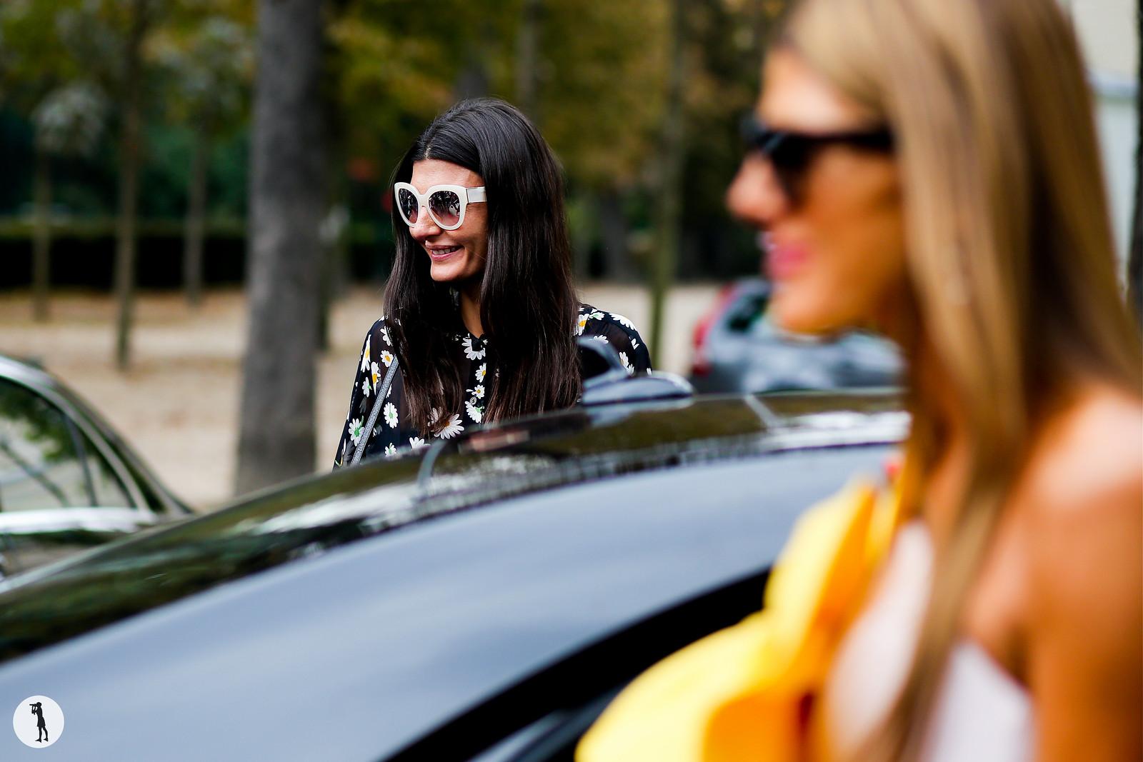 Giovanna Battaglia - Paris fashion week RDT SS15 (11)