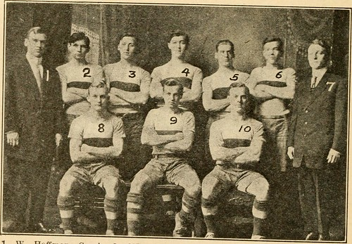 "Image from page 101 of ""Spalding's official collegiate basket ball guide"" (1905) 