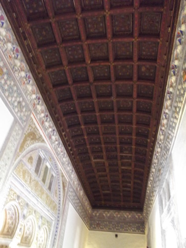 Real Alc 225 Zar Seville Felipe Ii Ceiling Room At The