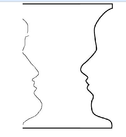 Vase Face Exercise Lh Drawrightvacefacem Flickr