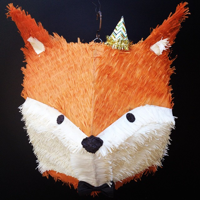 i m pleased to present our new and improved fox piñata no flickr