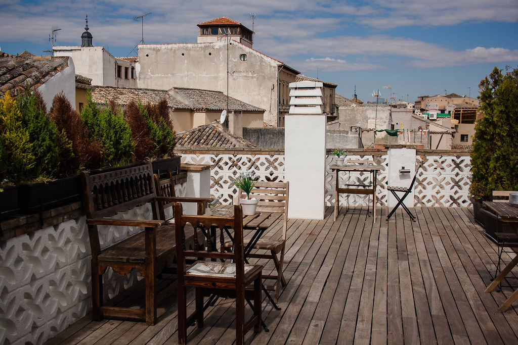 Terraza Del Oasis Hostel Toledo Maite Flickr