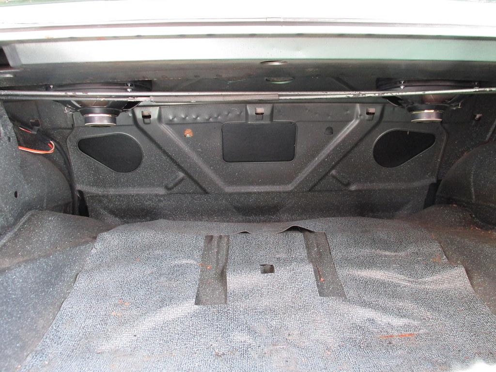 1968 chevy ii nova rear speaker installation 2014 flickr. Black Bedroom Furniture Sets. Home Design Ideas