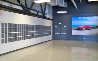 The Tesla Patent Wall at HQ, now set free | by jurvetson