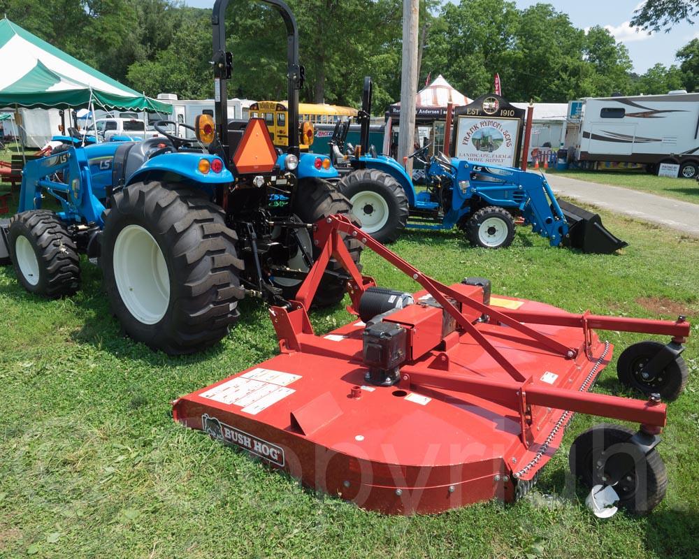 Ls Tractor With Bush Hog Mower 2014 Warren County Farmers Flickr