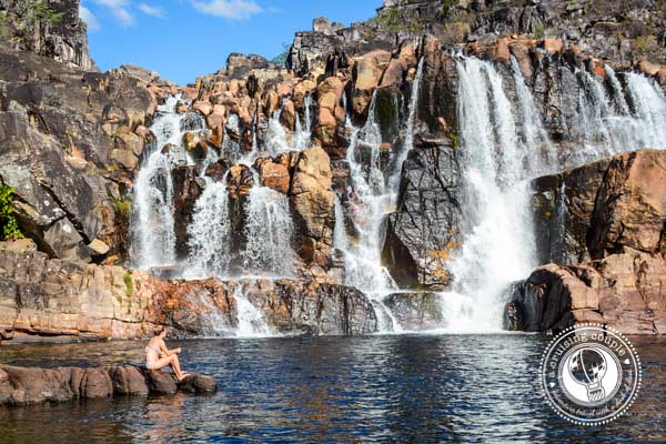 Cachoeira Waterfall Chapada dos Veadeiros National Park