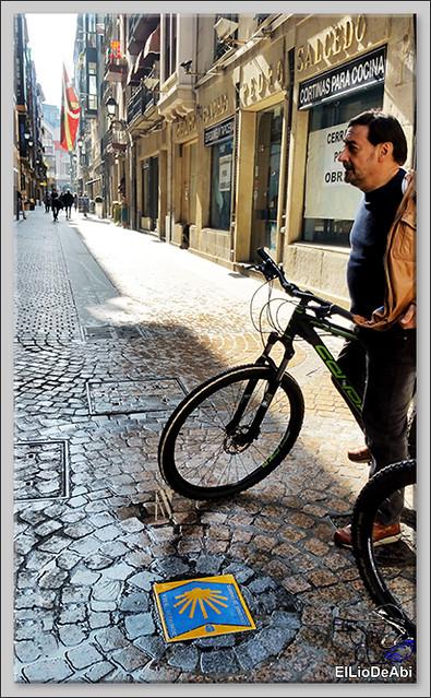 Camino de Santiago por Bilbao con Urban Bike 2