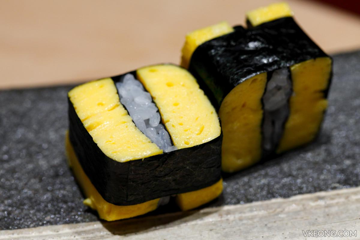 Sushi Azabu Tamago Sushi