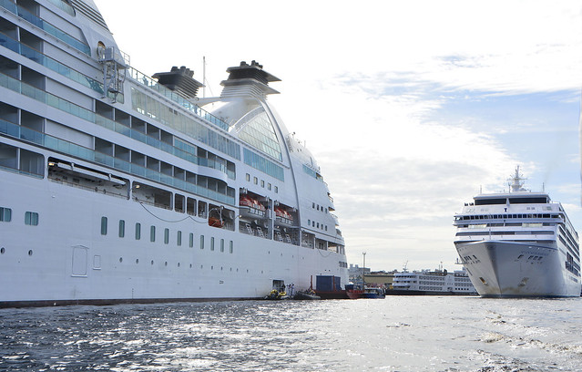 17.03.17.Encontro de cruzeiro no porto de Manaus