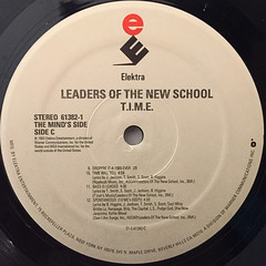 LEADERS OF THE NEW SCHOOL:T.I.M.E.(LABEL SIDE-C)