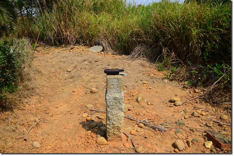 轆砂坑土地調查局圖根點(Elev. 124 m) 1