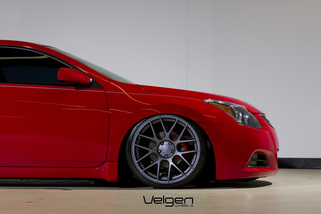 Nissan Altima Coupe Bagged On Velgen Wheels Vmb7 20x9 20 Flickr